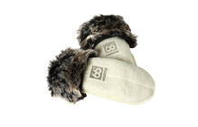 66° North Kaldi Arctic Mittens off white